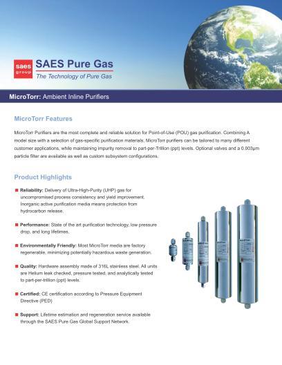 MicroTorr Brochure