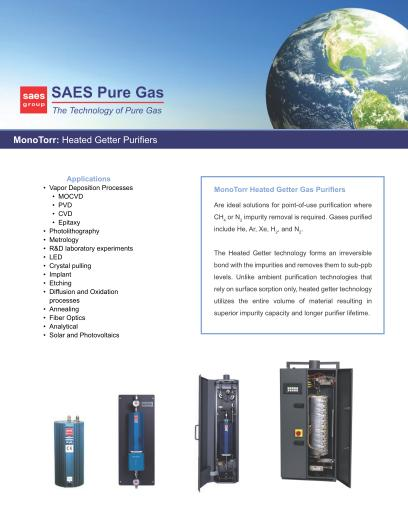 MonoTorr Brochure